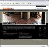 Разработан веб-сайт компании Materialix