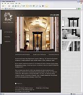 Создан сайт архитектурного бюро Atria Magna, входящего в группу DOMUS AUREA