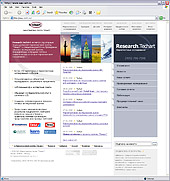 Новая версия сайта исследовательской компании Research.TechArt