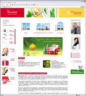 Переработка сайта производителя пластиковых окон Modeline