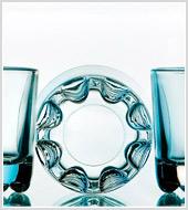 Фотосъемка стеклянной посуды для группы «АРКОМ»