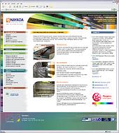 Завершена разработка нового сайта NAYADA-Industrial