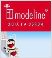 Рекламная кампания окон Modeline