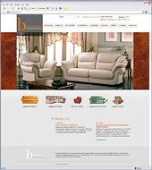Разработан сайт мебельной фабрики Britannica