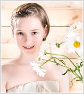 Портретная фотосъемка двенадцатилетней девочки