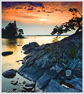 """Обновлен раздел """"Природа"""", подразделы """"закаты и рассветы"""" и """"реки и озера"""" - фотографии Карелии."""