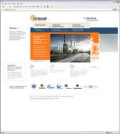 """Новый корпоративный сайт для """"Телекор-Энергетика"""""""