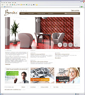 Дизайн и разработка сайта производителя стеновых панелей Bonita Casa