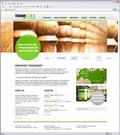 Дизайн и разработка сайта производителя лакокрасочных материалов TechnoCOLOR