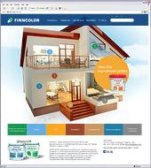 Создан сайт торговой марки Finncolor (TIKKURILA)