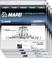 Программная платформа для управления региональными сайтами MAPEI