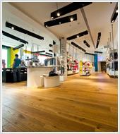 Фотосъемка интерьеров магазинов BENETTON  для MAPEI