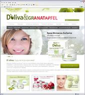 Обновлен сайт торговой марки лечебной косметики D`oliva