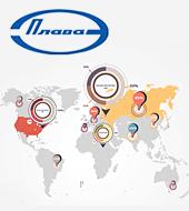 Расширение географического охвата рекламной кампании для ОАО Плавский машиностроительный завод «Плава»