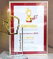 """Работы """"Текарт"""" — номинанты и победители """"Рейтинга Рунета 2014"""""""