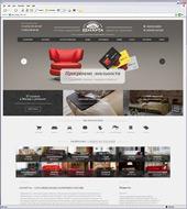 """Новый сайт для сети салонов холдинга """"8 марта"""""""