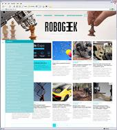 Редизайн информационного ресурса RoboGeek