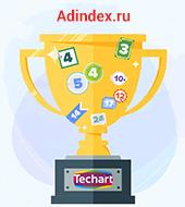 """""""Текарт"""" в ТОПах рейтингов Digital Index 2016"""