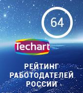 """""""Текарт"""" снова в ТОП-100 лучших работодателей России (HeadHunter)"""
